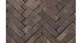 Клинкерная тротуарная брусчатка ручной формовки Penter Nostalgie wasserstrich tumbled, 200х50х85 мм фото