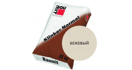 Цветной кладочный раствор для лицевого кирпича Baumit Klinker Normal бежевый, 25 кг фото