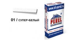 Цветной кладочный раствор PEREL NL 0101 супер-белый, 50 кг фото