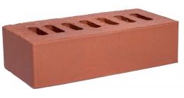 Кирпич клинкерный облицовочный пустотелый Kerma Premium Klinker Красный гладкий 1NF 250*120*65 мм фото