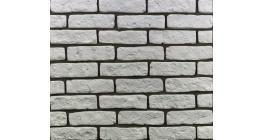 Искусственный камень Балтфасад Пантеон белый 210×60 мм фото