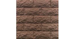Искусственный камень Балтфасад Гранит коричневый 275×125 мм фото