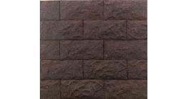 Искусственный камень Балтфасад Гранит темно-коричневый 275×125 мм фото