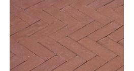 Клинкерная тротуарная брусчатка ручной формовки Penter Bruno, 200х65х85 мм фото