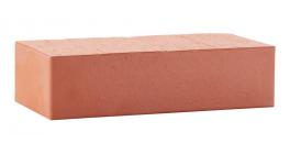 Кирпич керамический облицовочный полнотелый ЛСР красный гладкий, 250*120*65 мм фото