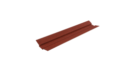 Накладка для ендовы LUXARD бордо, 1250 мм фото