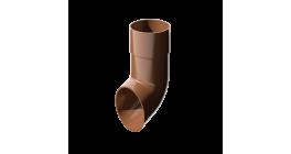 Слив трубы ТехноНИКОЛЬ (Verat) коричневый, D 82 мм фото