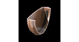 Заглушка желоба ТехноНИКОЛЬ (Verat) коричневый, D 125 мм фото