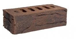 Кирпич клинкерный облицовочный пустотелый Faber Jar, коричневый Невский, 250х85х65 мм фото