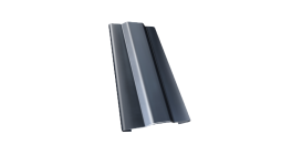 Защелка для кронштейна Гранд Лайн (Grand Line) Granite RAL 7024 мокрый асфальт, D 125/90 мм фото