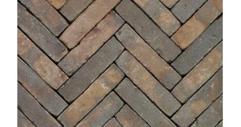 Клинкерная тротуарная брусчатка ручной формовки Penter Oliva wasserstrich tumbled 200х50х85 мм фото