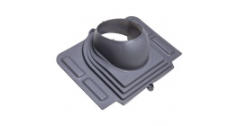 Проходной элемент VILPE PELTI для металлической кровли, серый фото