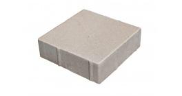 Тротуарная плитка Меликонполар Квадрат 200 Б.3.К.6 серый, 200х200х60 мм фото