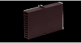 Вентиляционно-осушающая коробочка BAUT 80*60*10 мм, коричневая фото