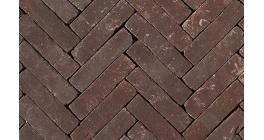Клинкерная тротуарная брусчатка ручной формовки Penter Violetta tumbled, 200х50х85 мм фото