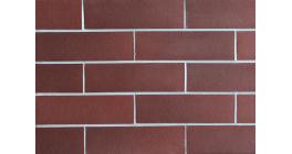 Фасадная плитка клинкерная DeKERAMIK DKK822 Рубин гладкая, NF8, 240*71*9 мм фото
