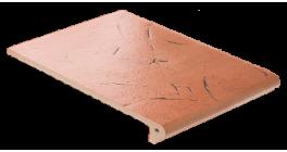 Клинкерная ступень флорентинер ABC Antik Kupfer, 335*240*10 мм фото