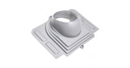 Проходной элемент VILPE PELTI для металлической кровли, светло-серый фото