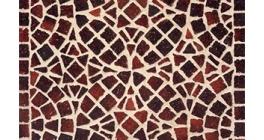 Тротуарная клинкерная мозаика Feldhaus Klinker M409DF gala ferrum, 240*118*52 мм фото