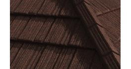 Композитная черепица Gerard Shake Chestnut, 1250*371 мм фото