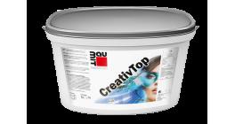 Штукатурка декоративная моделируемая Baumit CreativTop Pearl 0.5 мм, 25 кг фото