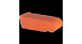 Керамический подоконник Lode Janka красный, 225*60*88 мм фото