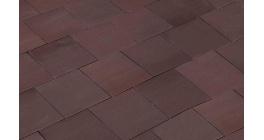 Клинкерная тротуарная брусчатка ручной формовки Penter Astra, 150х150х65 мм фото