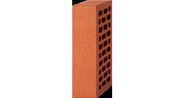 Кирпич лицевой красный 1НФ — Старая стена (250×120×65 мм) фото