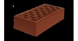 Кирпич рядовой пустотелый ЛСР коричневый М150_Б 1НФ, 250*120*65 мм фото
