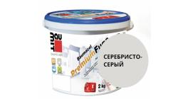 Затирка для швов Baumit Baumacol PremiumFuge серебристо-серый, 25 кг фото
