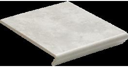 Клинкерная ступень флорентинер Euramic Cavar E544 chiaro, 340x294x11 мм фото