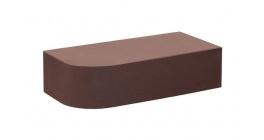 Кирпич керамический облицовочный полнотелый КС-керамик Темный шоколад гладкий  250*120*65 R60 фото