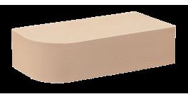 Кирпич керамический облицовочный полнотелый КС-керамик Лотос гладкий 250*120*65 R60 фото