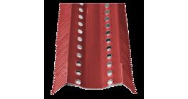 Аэроэлемент конька BRAAS AFE красный, 1000 мм фото