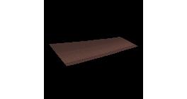Ребристый желобок для обустройства ендовы LUXARD 1,6 м, коричневый фото
