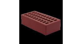 Кирпич керамический облицовочный пустотелый Воротынский Бордо гладкий 250*120*65 мм фото