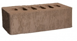 Кирпич клинкерный облицовочный пустотелый Kerma Premium Klinker Коричневый бархат WFD 215*102*65 мм фото