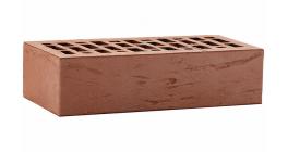 Кирпич керамический облицовочный пустотелый ЛСР Коричневый рустик 250*120*65 мм фото