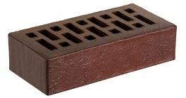 Кирпич керамический облицовочный пустотелый RECKE 5-92-00-2-00 коричневый фактурный 250*120*65 мм фото