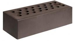 Кирпич керамический облицовочный пустотелый Керма Шоколад гладкий 1NF 250*120*65 мм фото
