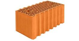 Поризованный блок Porotherm PTH51GL М100 14,32 НФ (510*250*219 мм) фото
