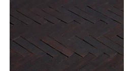Клинкерная тротуарная брусчатка ручной формовки Penter Preston tumbled, 200х50х65 мм фото