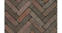 Клинкерная тротуарная брусчатка ручной формовки Penter Alfaton mix tumbled, 200х50х65 мм фото