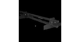 Комплект снегозадерживающих труб BRAAS черный, 2950 мм фото