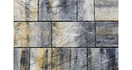 Тротуарная плитка ВЫБОР Антара Искусственный камень Базальт, Б.1.АН.6 фото