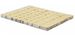 Тротуарная плитка BRAER Классико Песочный, 60 мм фото