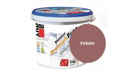 Затирка для швов Baumit Baumacol PremiumFuge рубин, 25 кг фото