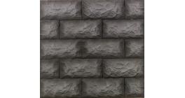 Искусственный камень Балтфасад Гранит черный 275×125 мм фото