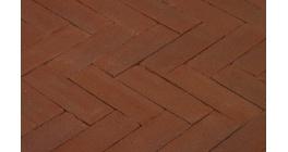 Клинкерная тротуарная брусчатка ручной формовки Penter Paviona 240х65х80 мм фото