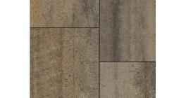 Тротуарная плитка ВЫБОР Квадрат Искусственный камень Базальт, Б.7.К.8 фото